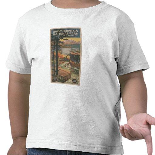 Rocky Mt. Nat'l Park Brochure # 2 Shirt