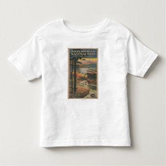 Rocky Mt. Nat'l Park Brochure # 2 Toddler T-shirt