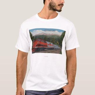 Rocky Mt. Rocket (Train), Pikes Peak, Colorado T-Shirt