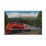 Rocky Mt. Rocket (tren), pico de los lucios, Color Tarjetas Postales
