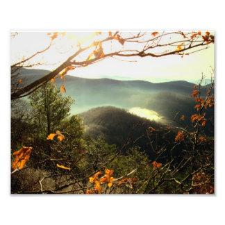 Rocky Mtn. Appalachian Trail, Georgia Art Photo