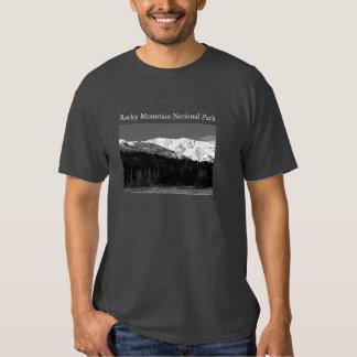 Rocky Mtn. National Park t-landscape/elk Tee Shirt