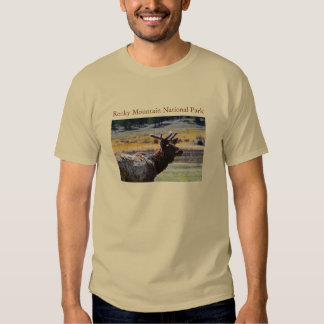 Rocky Mtn. National Park t-landscape Tee Shirt