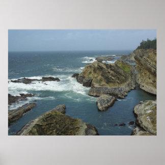 Rocky Oregon Coast Print
