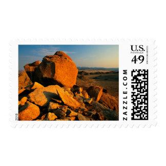 Rocky Outcrop And Desert Valley, Richtersveld Postage Stamp