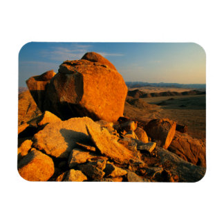 Rocky Outcrop And Desert Valley, Richtersveld Magnet