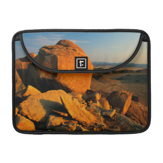 Rocky Outcrop And Desert Valley, Richtersveld Sleeve For MacBook Pro