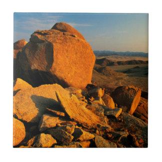 Rocky Outcrop And Desert Valley, Richtersveld Tiles
