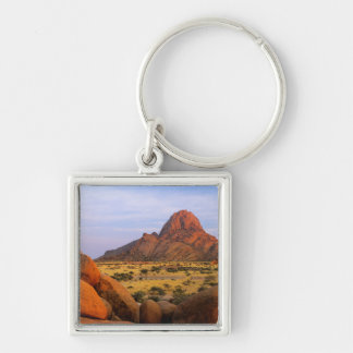 Rocky Outcrop And Plain, Spitzkoppe, Erongo Keychain