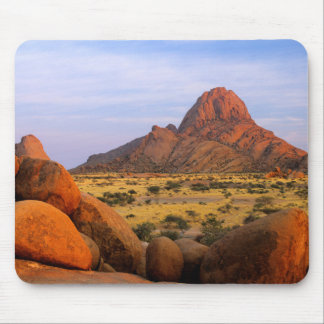 Rocky Outcrop And Plain, Spitzkoppe, Erongo Mouse Pad