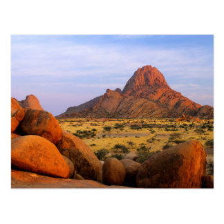 Rocky Outcrop And Plain, Spitzkoppe, Erongo Postcard