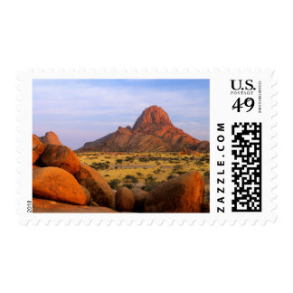 Rocky Outcrop And Plain, Spitzkoppe, Erongo Stamp