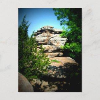 Rocky Outcrop postcard