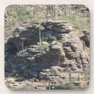 Rocky Outcropping in Tucson Coasters