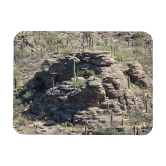 Rocky Outcropping in Tucson Magnet