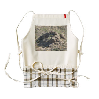 Rocky Outcropping in Tucson Zazzle HEART Apron