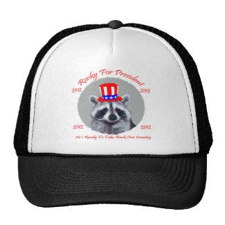 Rocky para el presidente 2012 gorras