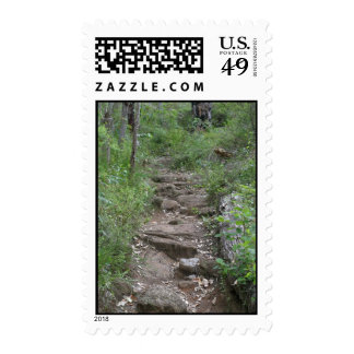 Rocky Pathway In Porongurup Postage