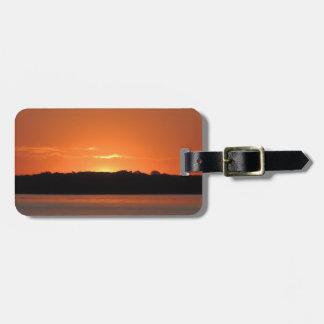 Rocky Point Sunrise Bag Tag