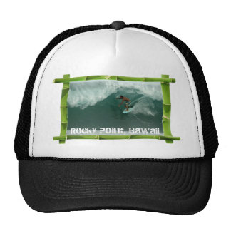 Rocky Point Surf, Hawaii Mesh Hats