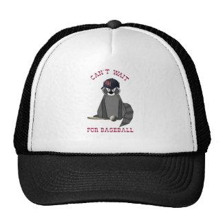 Rocky-Raccoon-Baseball Trucker Hat
