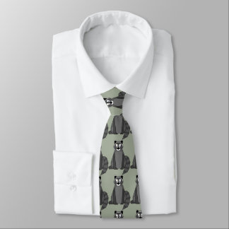 Rocky Raccoon Tie
