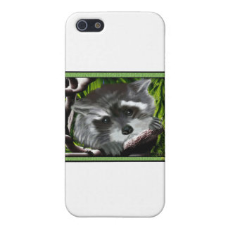 Rocky Racoon Case For iPhone SE/5/5s