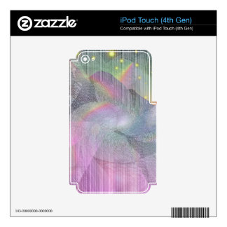 Rocky Rainbows Decal For iPod Touch 4G