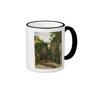 Rocky Ravine at Sorrento, 1823 Ringer Mug