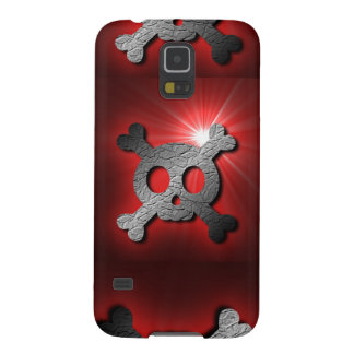 Rocky Red Pirate Skull Samsung Galaxy case Cases For Galaxy S5