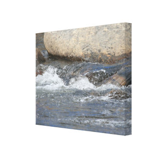 Rocky River Canvas Print