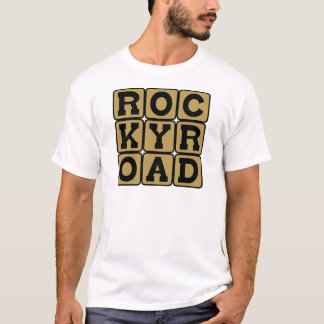 Rocky Road, Ice Cream Flavor T-Shirt