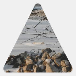 Rocky Road Series Triangle Sticker