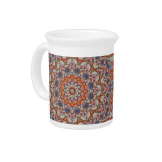 Rocky Roads  Colorful Pitcher