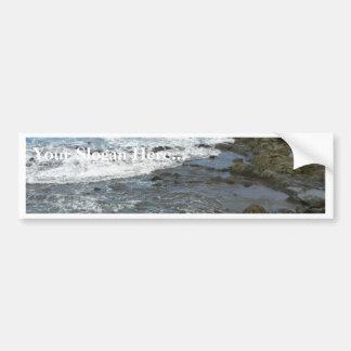 Rocky Sea Bumper Stickers