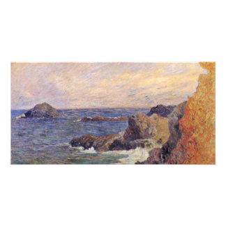 Rocky Sea Coast By Paul Gauguin (Best Quality) Photo Greeting Card