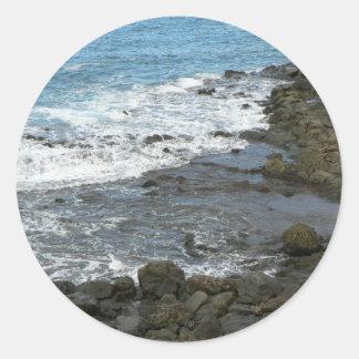 Rocky Sea Stickers