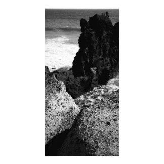 Rocky seascape card