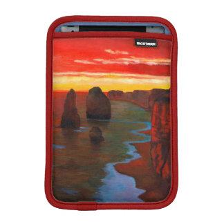Rocky Seashore At Sunset iPad Mini Sleeve