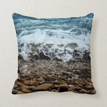 Beach Themed Rocky Shore 2 / Nature Series / Pillow
