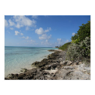 Rocky Shore - Coco Cay Print
