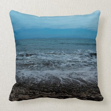 Beach Themed Rocky Shore / Nature Series / Pillow