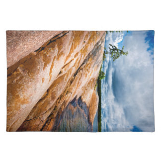 Rocky shore of Georgian Bay Cloth Placemat