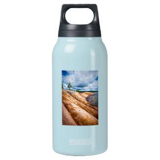 Rocky shore of Georgian Bay Thermos Bottle