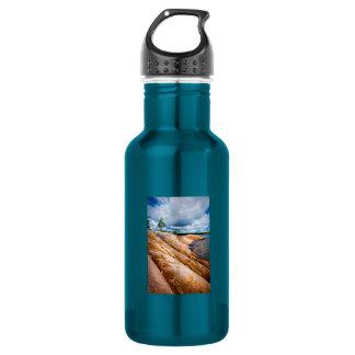 Rocky shore of Georgian Bay Water Bottle