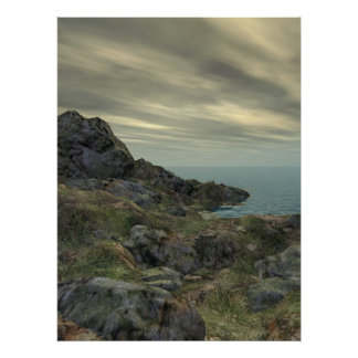Rocky Shore Posters