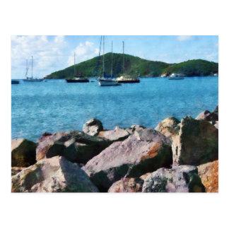 Rocky Shore St. Thomas Postcards