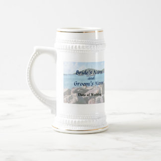 Rocky Shore St. Thomas Wedding Products Beer Stein