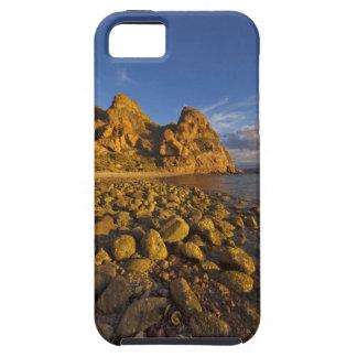 Rocky shoreline on Isla Carmen in the Gulf of iPhone 5 Cases