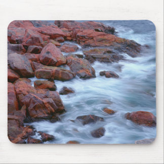 Rocky shoreline with water, Canada Mouse Pad